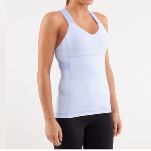 Lululemon Push Your Limits Tank - Periwinkle